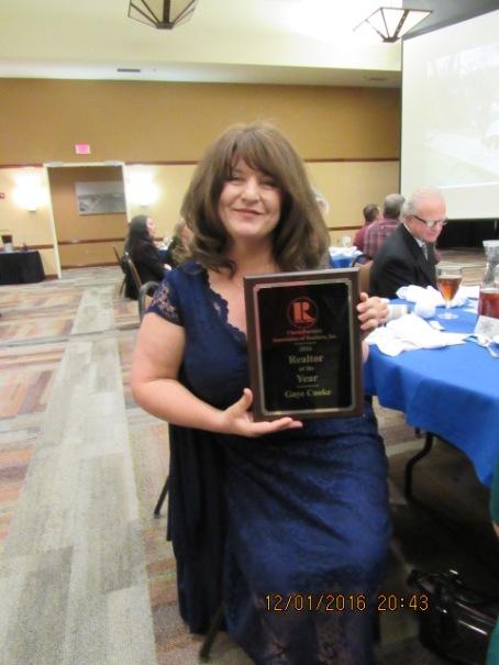 2016 CPAR REALTOR® of the year: Gaye Cooke