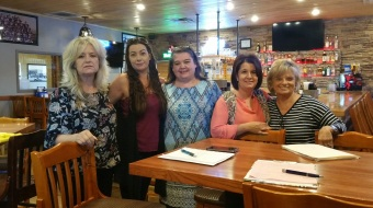 The Gold Star Team - Charlotte Hamilton, Kayla Mitchell, Melissa Widner, Leah Cotton, Gayla Brumffirld