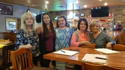 The Gold Star Team - Charlotte Hamilton, Kayla Mitchell, Melissa Widner, Leah Cotton, Gayla Brumffirld
