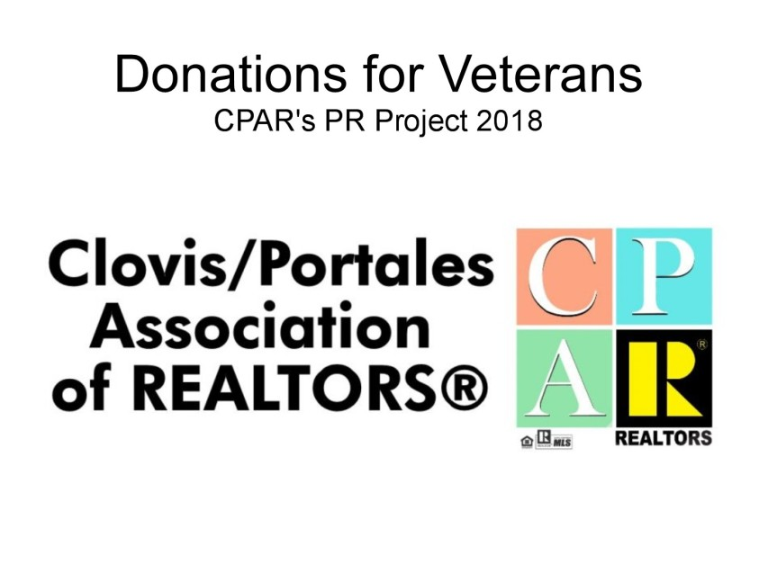 Asking for Household Items for Veterans